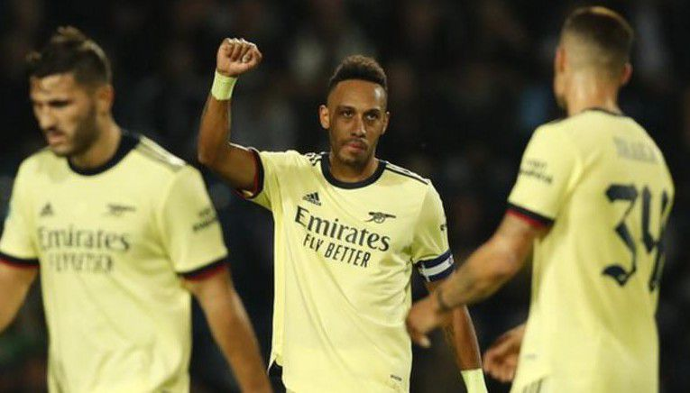 Aubameyang Impressed With Hat-Trick As Arsenal Flush Out West Bromwich Albion In Carabao Cup