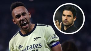 Mikel Arteta Backed Aubameyang To Back To His Best As Fans Are Back To The Stadium