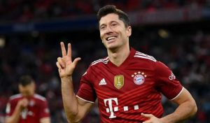 Unstoppable Lewandowski Scores 300th Goal For Bayern as Bundesliga Champions Beat Hertha Berlin