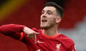 Andy Robertson Pen Down Another 3Years To Extends His Stay At Liverpool Till 2026