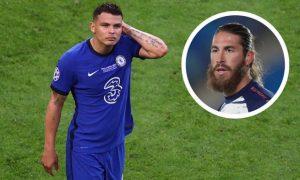 Thiago Silva Reveals His Sadness As Psg Sign Sergio Ramos