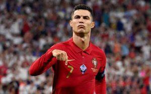 Ronaldo Brace Against Republic Of Ireland Makes Him Breaks All-Time Men's International Scoring Record