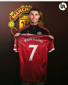 Cristiano Ronaldo Jersey Number Is Unveiled