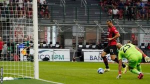 Zlatan Ibrahimovic Returned With A Goal In AC Milan's Victory Against Lazio.