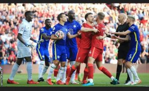 FA Charged Chelsea As They Failed To Control Their Players Against Liverpool