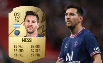 FIFA 22 ratings: Messi Ranks Above Ronaldo As Best Player