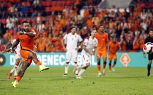 Depay Astonishing Performance Help Netherlands Secured An Important Win Against Montenegro