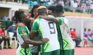 Kelechi Iheanacho's Scores  Brace As Nigeria Defeat Liberia By 2-0