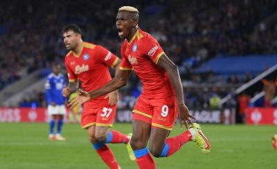 Osimhen Fights Back With Brace Ndidi Was Sent Out As Napoli Hold Leicester City