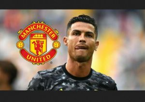 Ronaldo First Day At Man Utd's Carrington Training Ground
