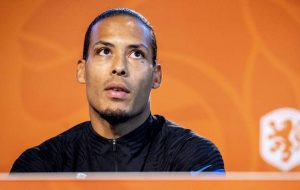 'Maybe Because I Am So Big!' Van Dijk Reveals How He Sustains Injury Scare In Turkey Clash Against Netherland