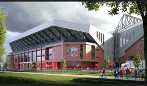 """When complete, the expanded Anfield Road Stand is expected to create about 400 matchday roles, a spokesman for the club said. This is in addition to the 2,200 people currently employed in various operations at each home game, of which 95% are known to live in the Liverpool City Region. The proposals, which follow the expansion of Anfield's Main Stand in 2016, include: A covered """"fan zone"""" within the stadium A renewed """"public realm"""" outside the ground similar to 96 Avenue outside the Main Stand Anfield Road will be re-routed around the back of the new stand"""