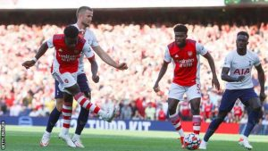 Arsenal Outsmarted Tottenham To Claimed 3point In The Opening 35 Minutes
