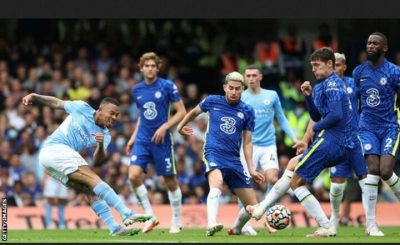 Manchester City End Chelsea's Unbeaten Start To The Season With A Deserved Victory At Stamford Bridge.