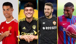 All The Deals Agreed On Transfer Deadline Day