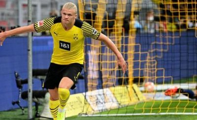 Erling Braut Haaland Scored Twice as Borussia Dortmund Survived A Scare To Beat Union Berlin.