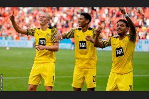 Haaland Brace Help Borussia Dortmund Come From Behind To Beat B Leverkusen By 3-4