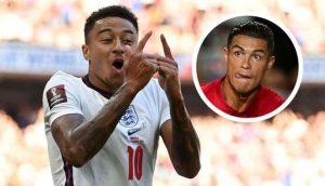Gareth Southgate Confident In Lingard To Challenge Cristiano Ronaldo At Man Utd