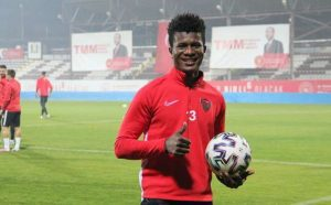 Mohammed Kamara Has Announced His Retirement Due To How He Was Exclude In Liberia Starting Lineup