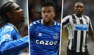 Iwobi, Ameobi, Kanu And The 10 Most Capped Nigerians In Premier League History