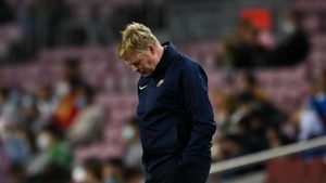 Ronald Koeman Refused To Answer Questions Concerning His Future As Barcelona Head Coach Following A 1-1 Draw Against Granada