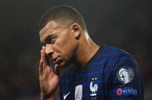 Mbappe Left Out From France Duty Due To Calf Problem
