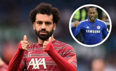 Liverpool Star Mohamed Salah Moves Close On Drogba's Record