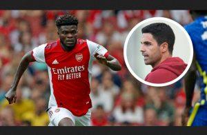 Arsenal Coach Michael Arteta Has Urged Thomas Partey 'To Be A Leader'