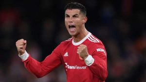 Man Utd's Ronaldo Equals Record For 90th-Minute Champions League Winners