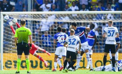 Sampdoria Came From Behind To Claim A Point Against Italian Champions Inter Milan