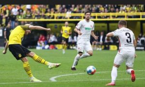 Dortmund Moved To Second With Victory Over Augsburg