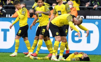 Borussia Dortmund Go Top Of The Bundesliga Table As Erling Haaland Strikes Twice In 3-1 Win Over Mainz