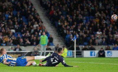 Manchester City Vs Brighton & Holve Albion 4-1 Highlight (Video)