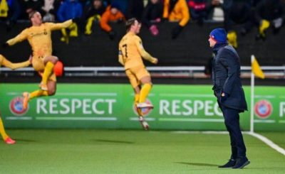 Mourinho Suffers Biggest Defeat Of His Managerial Career As Bodo/Glimt Thrash Roma By 6-1