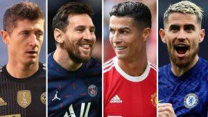 Ballon d'Or 2021 30-Man Shortlist Reveals: Messi, Ronaldo, Lewandowski & Jorginho