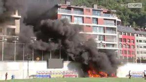 UEFA Confirms Andora Vs England Goes Ahead Despite Fire