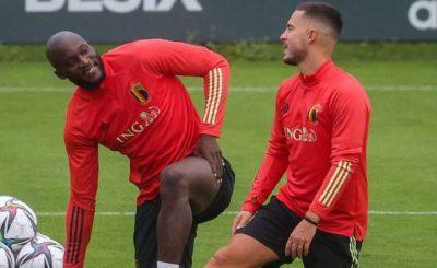 Lukaku And Hazard Left Belgium Camp Due To Fitness Concerns