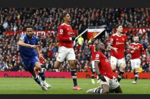 Andros Townsend's Equaliser Earned Everton A Deserved Point Against Manchester United