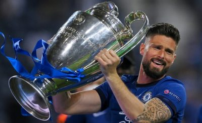 France International Olivier Giroud Reveals He 'Found It Harder' To Leave Chelsea Than Arsenal