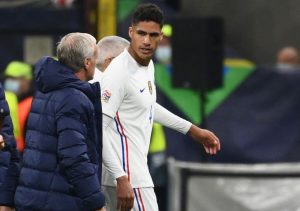 Injury Scare As Raphael Varane Hobbles Off In UEFA Nations League Final Between France And Spain