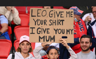 Child Offers His Mother To Lionel Messi As Swap Exchange To Get PSG Star's Shirt.