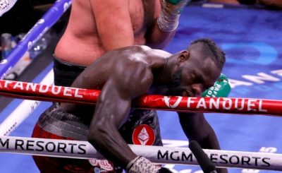 Deontay Wilder Speaks Out And Gives First Reaction To Tyson Fury KO As He Is Taken To Hospital